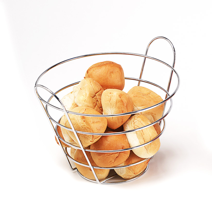 "10.5"" Round Bucket Basket, 9"" Tall"