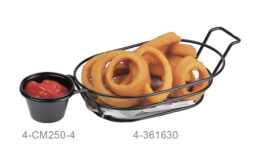 "13.25"" x 6"" Oval Basket w/ Handle and 1 Holder, 2"" Tall (Fits 4-84100, 4-84111, 4-84105, RM-203, S-620, F-625, ER-025)"