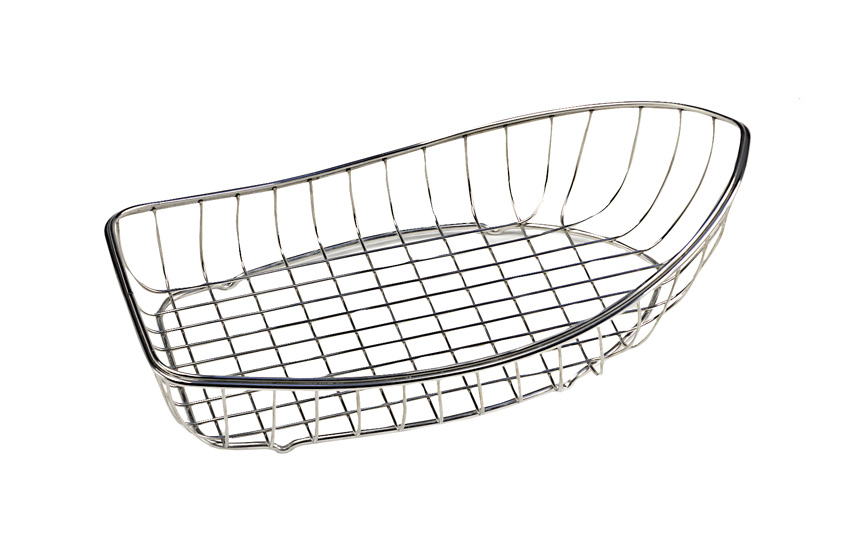 "13.25"" x 7.75"" Boat Basket, 3.75"" Tall"
