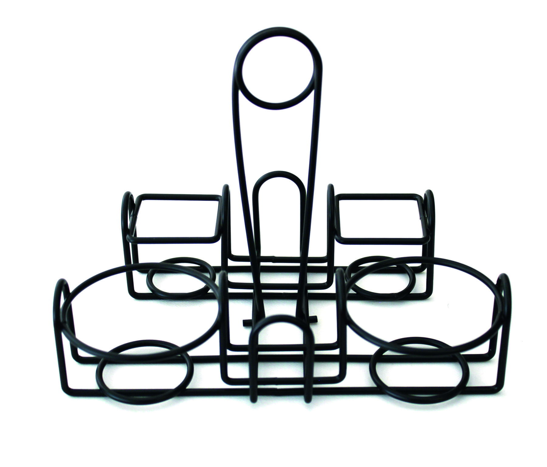 9 u0026quot  x 7 u0026quot  wire caddy for round table pizza
