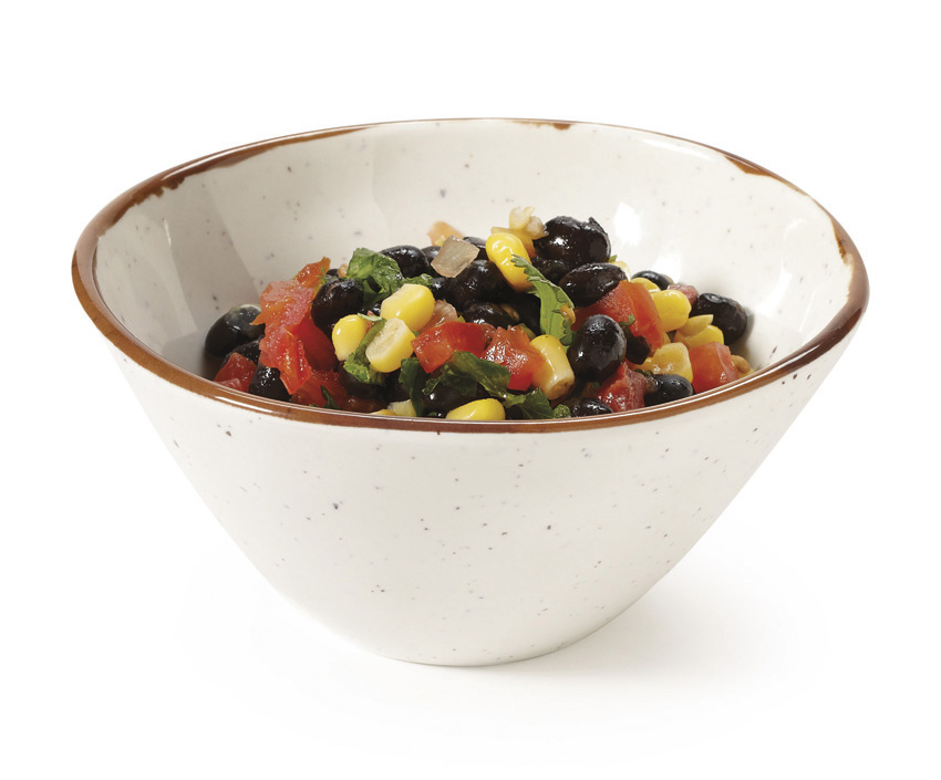 "22 oz. (24 oz. rim-full) Irregular Bowl, 6.25"" dia., 2.75'' deep"