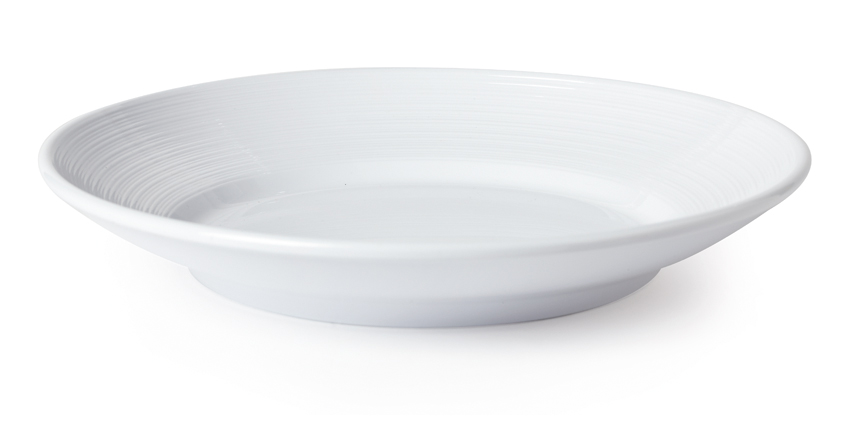 "1 qt. (1.3 qt. Rim-Full), 10.5"" Textured Rim Bowl, 1.5"" deep"