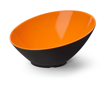 "24 oz. (1.3 qt. Rim-Full), 9.25"" Cascading Bowl, 4.75"" Deep"
