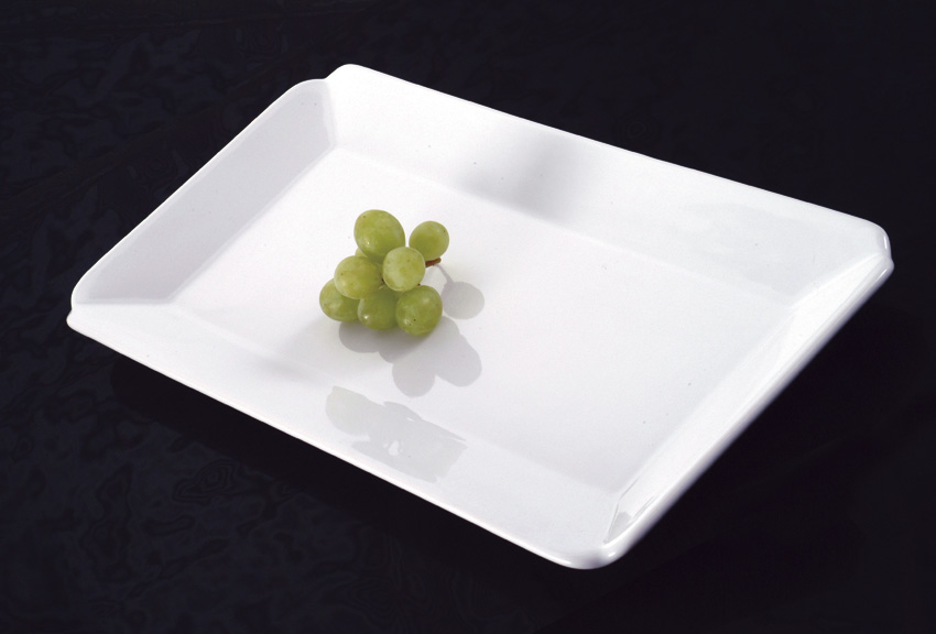 "15.25"" x 7.625"" Ceramic Rectangular Platter"