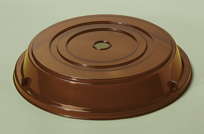 "Plate Cover for 11.25"" - 12.13"" Round Plate, 2.5"" Deep (Top Inset Dia. 4.75"" & 7"")"