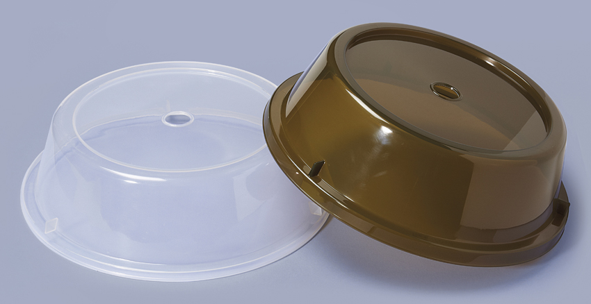 "Plate Cover for 9.7"" - 10.4"" Round Plate (Top Insert Dia. 7.5"")"
