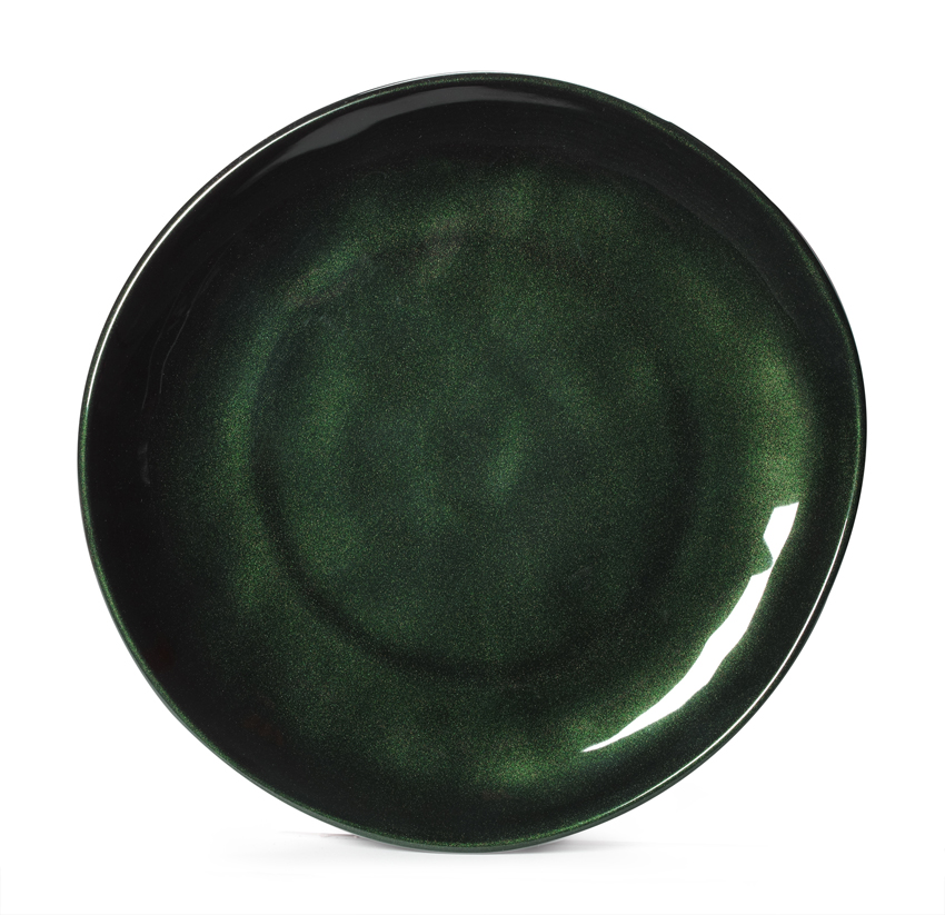 "10.5"" Irregular Round Coupe Plate"