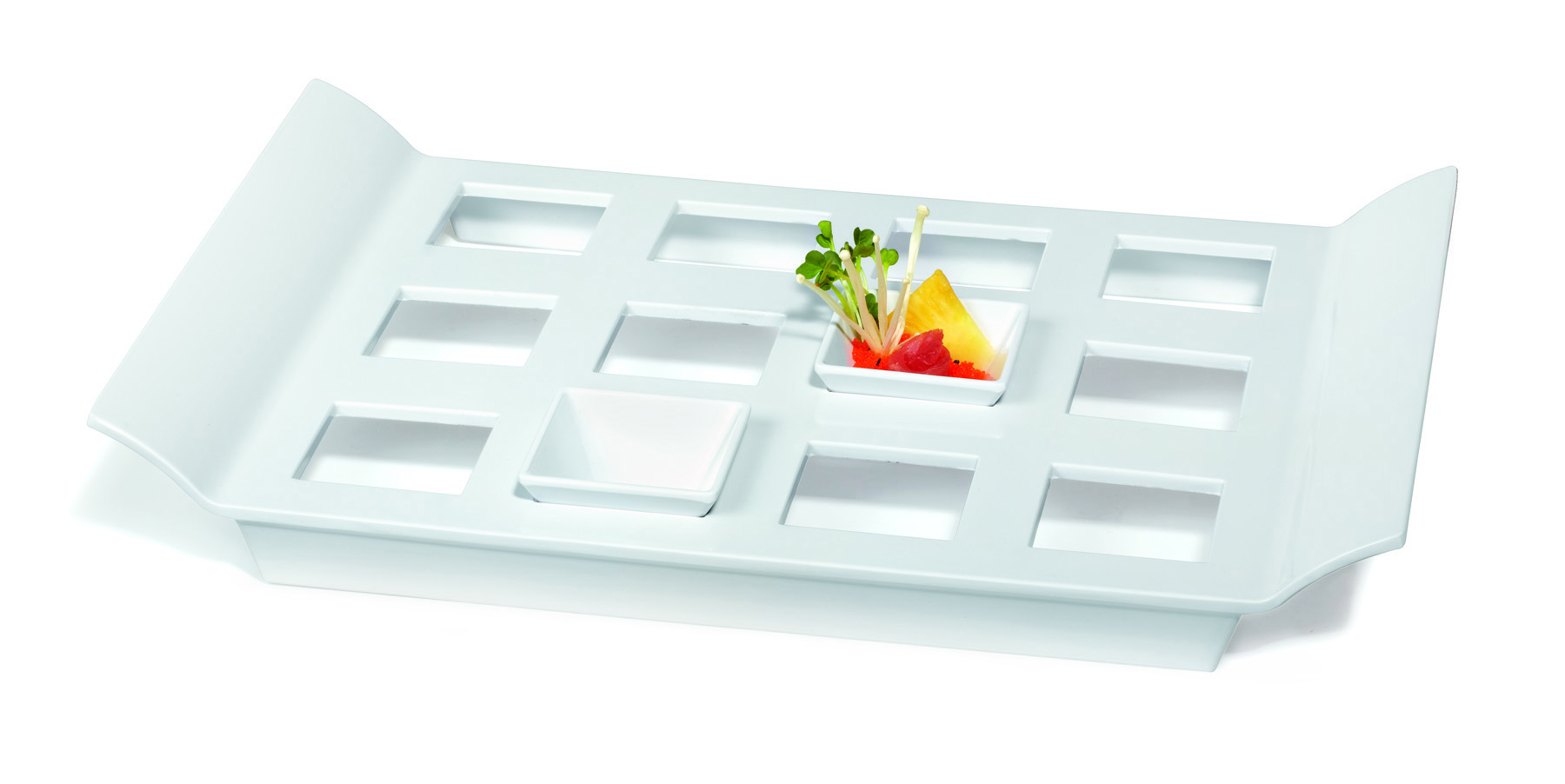 18 Quot X 13 Quot Tray With 12 Square Slots For Ml 257 G E T