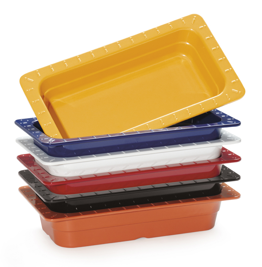 "10.36"" x 6.3"" Fourth Size Insert Pan, 2.5"" Deep (6 ea. per case)"