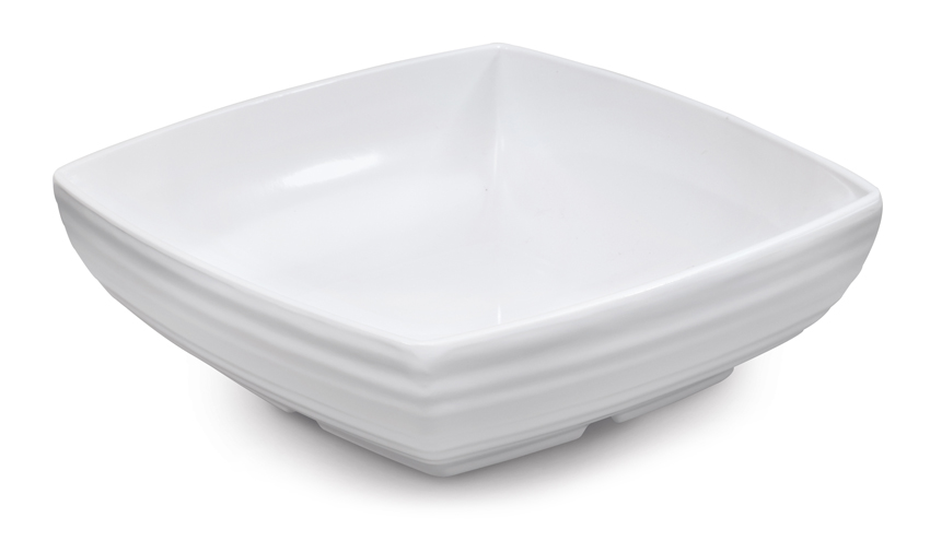 "1.75 qt. (1.8 qt. Rim-Full), 8"" Square Bowl, 2.75"" Deep"