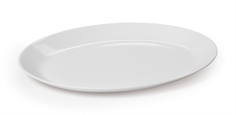"10"" x 7.75"" Oval Coupe Platter"