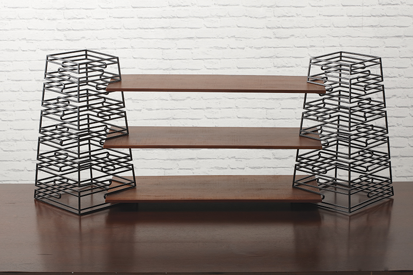 "Set of 2 Risers, 12"" x 12"", 23"" tall (fits BD-SET2-W, BD-SET3-W)"