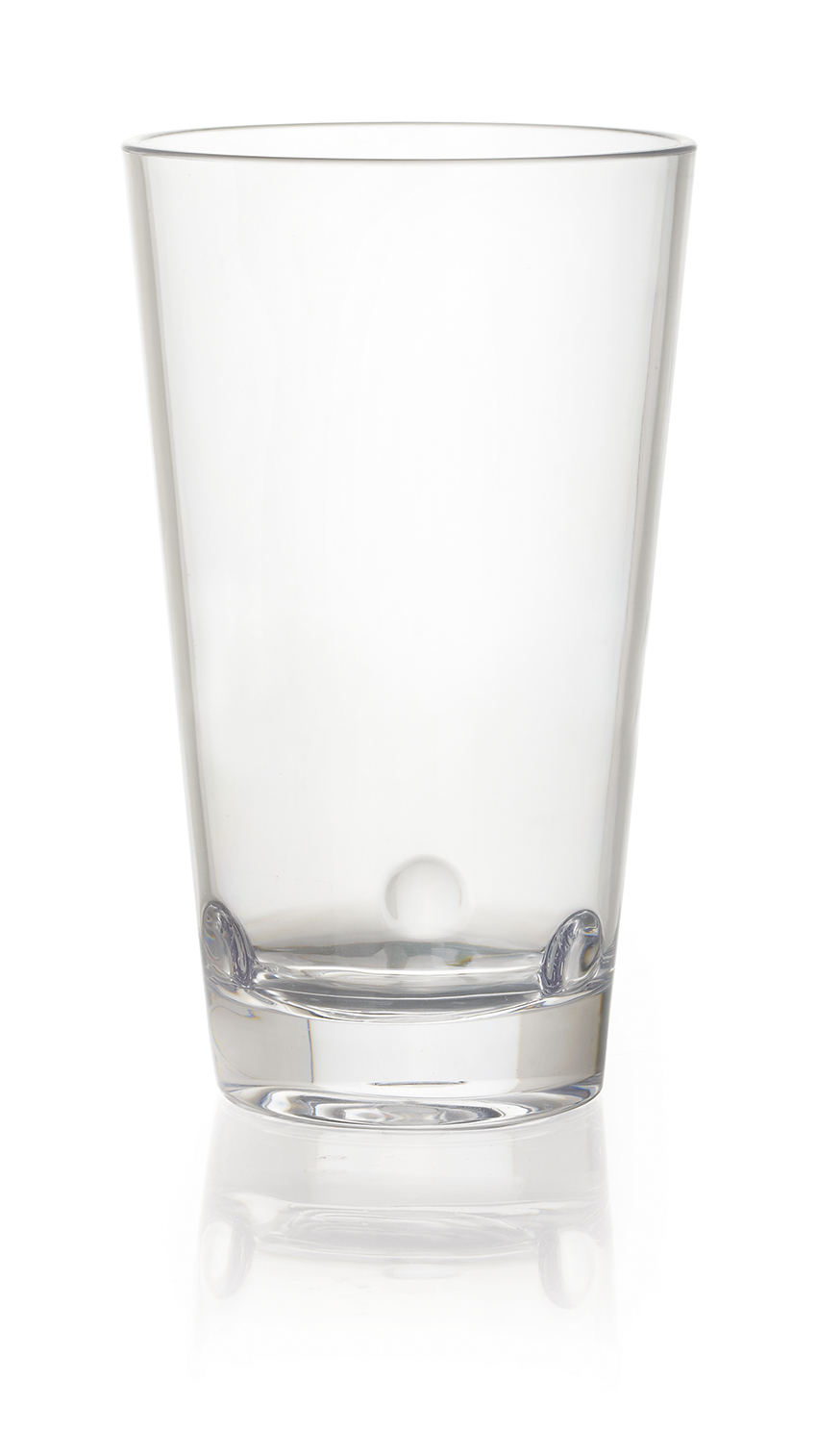 "16 oz. (16.8 oz. rim-full), 3.37"" Stackable Beverage, 5.7"" tall"