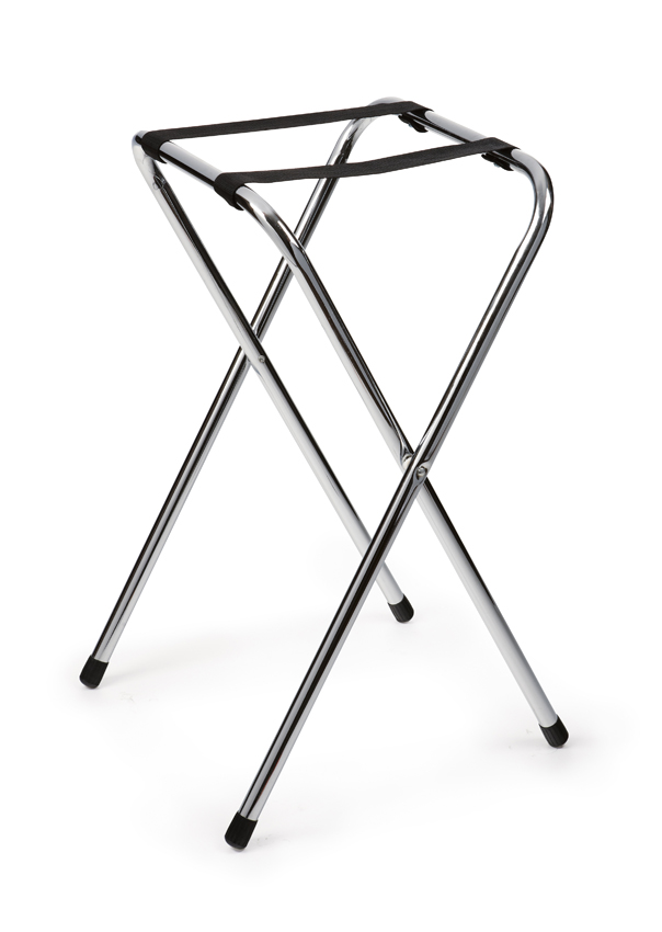 "Econo Chrome Tray Stand, 30 1/2"" Tall"
