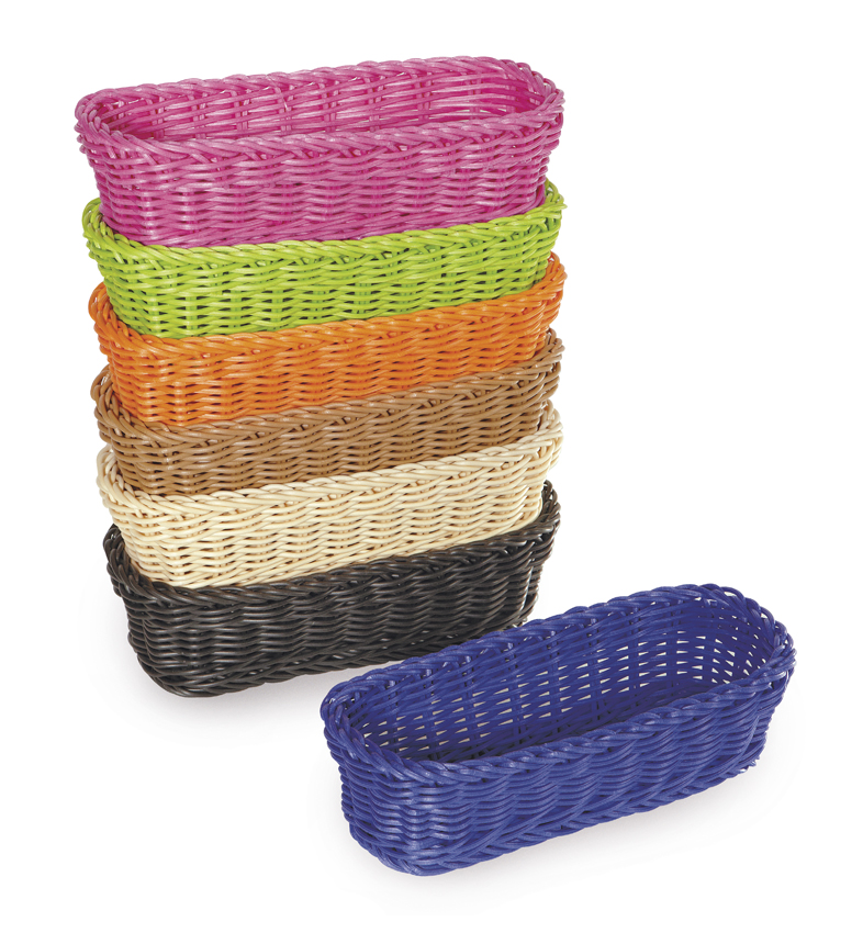 "10"" x 4.75"" Rectangular Basket, 3"" Deep"