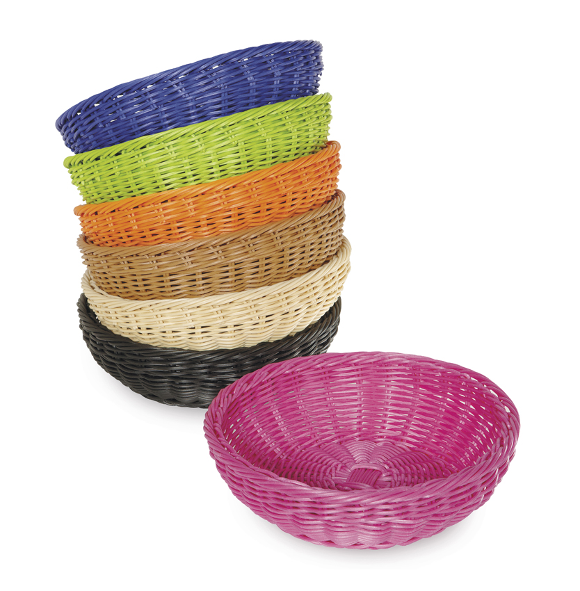 "11.5"" Round Basket, 3.5"" Deep"