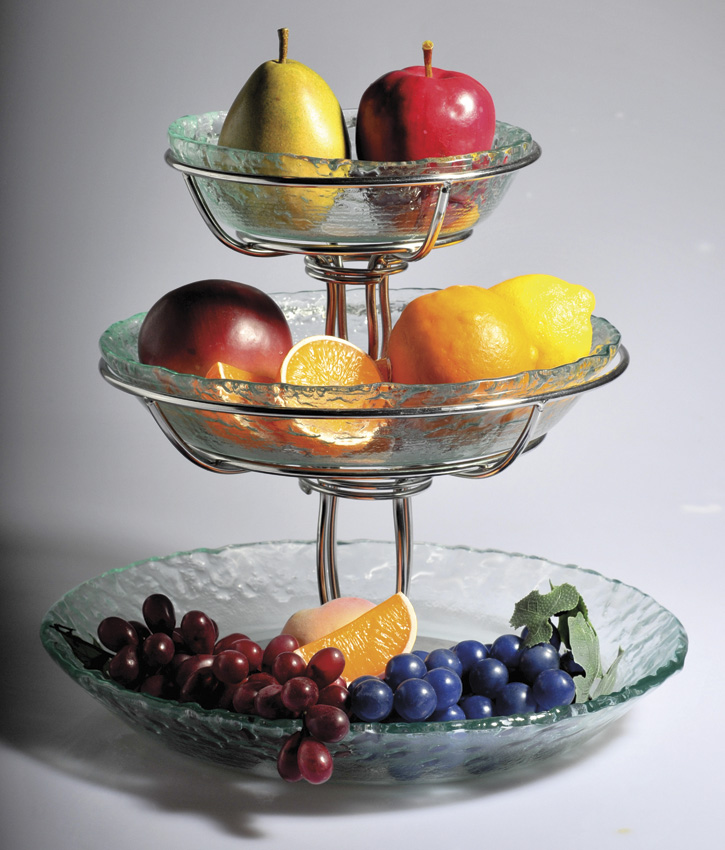 "12"" Wire Stand for Bowl Display, 8"" tall (fits WS-11 for Tiered Display)"
