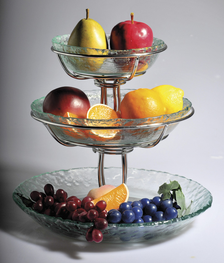 "8.5"" Wire Stand for Bowl Display, 6"" tall (fits WS-10 for Tiered Display)"