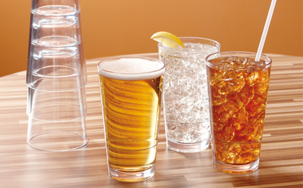 New! Stackable Drinkware