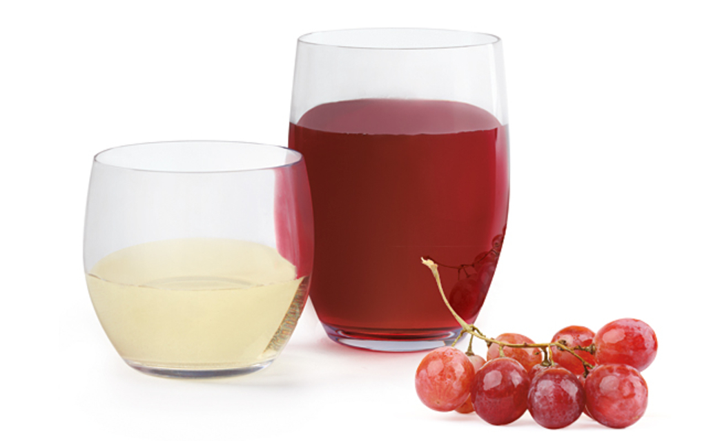 New! Stemless Wine Glasses