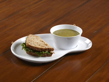 11. Creative Ways to Serve Entrée: Soup and Sandwich