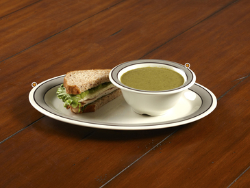 13. Creative Ways to Serve Entrée: Soup and Sandwich