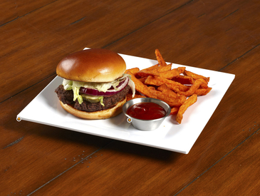 14. Creative Ways to Serve Entrée: Burger and Fries