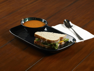 4. Creative Ways to Serve Entrée: Soup and Sandwich