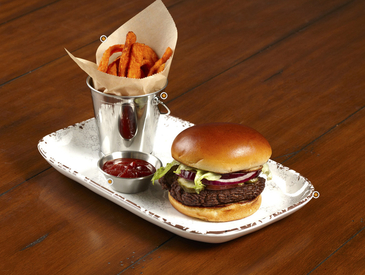 5. Creative Ways to Serve Entrée: Burger and Fries