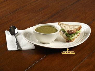 6. Creative Ways to Serve Entrée: Soup and Sandwich