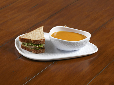 7. Creative Ways to Serve Entrée: Soup and Sandwich