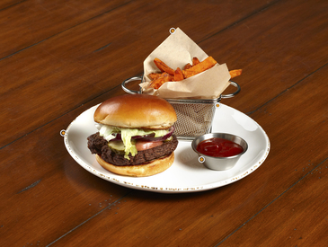 8. Creative Ways to Serve Entrée: Burger and Fries