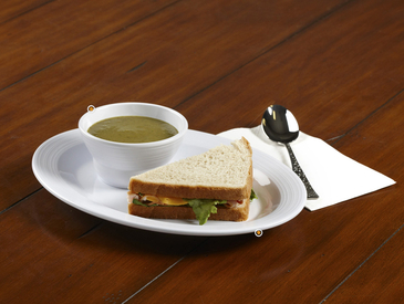 9. Creative Ways to Serve Entrée: Soup and Sandwich