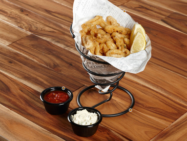 3. Creative Ways to Serve Appetizers: Calamari