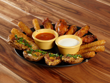 5. Creative Ways to Serve Appetizers: Appetizer Sampler Platter