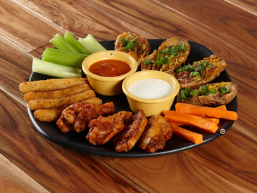 6. Creative Ways to Serve Appetizers: Appetizer Sampler Platter