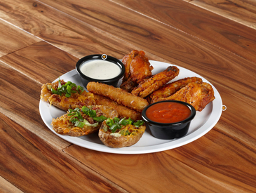 4. Creative Ways to Serve Appetizers: Appetizer Sampler Platter