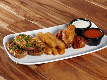 9. Creative Ways to Serve Appetizers: Appetizer Sampler Platter