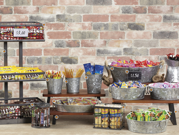 Urban Renewal - Retail Snack Display