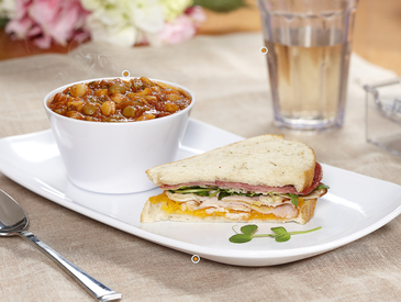 1. Soup and Sandwich