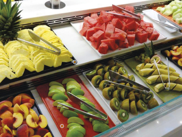 Cold Fruit Display