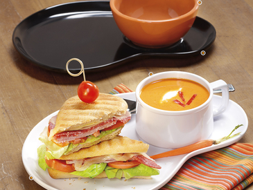 2. Soup and Sandwich