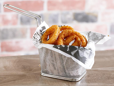 10. Creative Ways to Serve Appetizers: Onion Rings