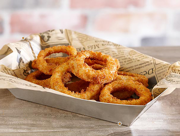 11. Creative Ways to Serve Appetizers: Onion Rings