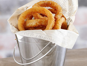 12. Creative Ways to Serve Appetizers: Onion Rings