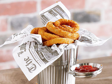 1. Creative Ways to Serve Appetizers: Onion Rings