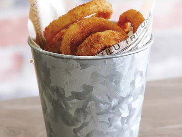 3. Creative Ways to Serve Appetizers: Onion Rings