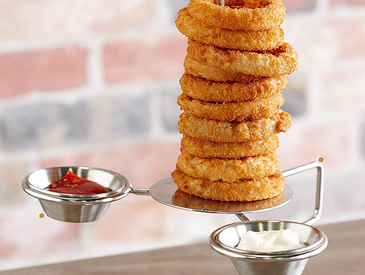 9. Creative Ways to Serve Appetizers: Onion Rings