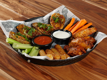 7. Creative Ways to Serve Appetizers: Appetizer Sampler Platter