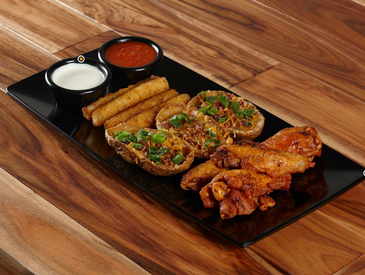 10. Creative Ways to Serve Appetizers: Appetizer Sampler Platter